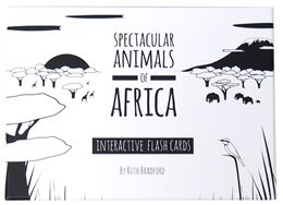 SPECTACULAR ANIMALS OF AFRICA FLASHCARDS