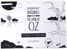 EXTRAORDINARY ANIMALS FROM THE LAND OF OZ FLASHCARDS