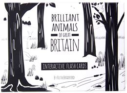 BRILLIANT ANIMALS OF GREAT BRITAIN FLASHCARDS