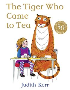 TIGER WHO CAME TO TEA (50TH ANNIV PB)
