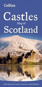 CASTLES MAP OF SCOTLAND (OLD)