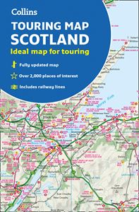 COLLINS TOURING MAP SCOTLAND (2019)