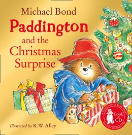 PADDINGTON AND THE CHRISTMAS SURPRISE (PB & CD)