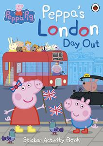 PEPPA PIG: PEPPAS LONDON DAY OUT STICKER ACTIVITY BOOK