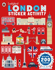 LADYBIRD LONDON STICKER ACTIVITY