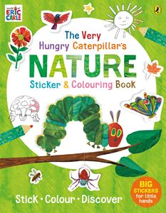 VERY HUNGRY CATERPILLARS NATURE STICKER AND COLOURING BOOK