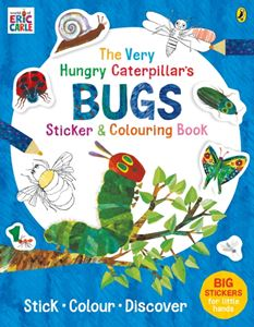 VERY HUNGRY CATERPILLARS BUGS STICKER AND COLOURING BOOK
