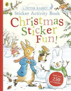 PETER RABBIT CHRISTMAS STICKER FUN