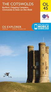 EXPLORER OL45: COTSWOLDS SOUTH