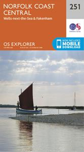 EXPLORER 251: NORFOLK COAST CENTRAL