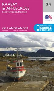 LANDRANGER 24: RAASAY AND APPLECROSS LOCH TORRIDON AND PLOC