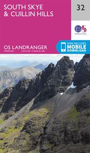 LANDRANGER 32: SOUTH SKYE AND CUILLIN HILLS