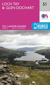 LANDRANGER 51: LOCH TAY AND GLEN DOCHART