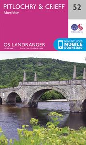 LANDRANGER 52: PITLOCHRY AND CRIEFF