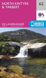 LANDRANGER 62: NORTH KINTYRE AND TARBERT