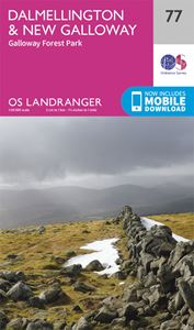 LANDRANGER 77: DALMELLINGTON AND NEW GALLOWAY GALLOWAY FORE
