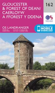 LANDRANGER 162: GLOUCESTER FOREST OF DEAN
