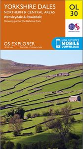 EXPLORER OL30: YORKSHIRE DALES NORTHERN AND CENTRAL AREAS
