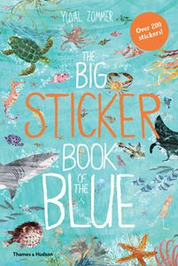 BIG STICKER BOOK OF THE BLUE