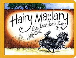 HAIRY MACLARY FROM DONALDSONS DAIRY (BOARD)