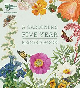 RHS GARDENERS FIVE YEAR RECORD BOOK