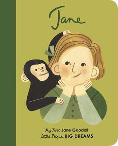 LITTLE PEOPLE BIG DREAMS: JANE GOODALL MY FIRST (BOARD)