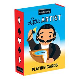 LITTLE ARTIST PLAYING CARDS (GALISON)