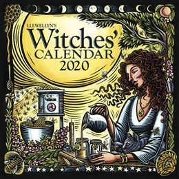 LLEWELLYNS 2020 WITCHES CALENDAR