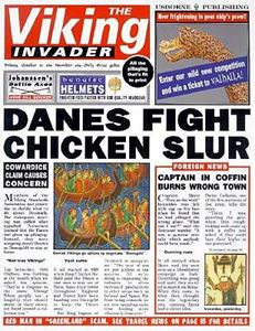 VIKING INVADER (NEWSPAPER HISTORY)