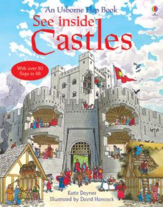 SEE INSIDE CASTLES (FLAP BOOK)
