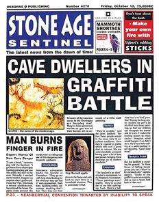 STONE AGE SENTINEL (NEWSPAPER HISTORY)