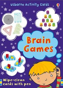 50 BRAIN GAMES CARDS