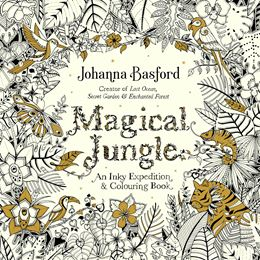 MAGICAL JUNGLE COLOURING BOOK (JOANNA BASFORD)