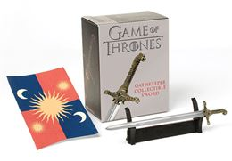 GAME OF THRONES OATHKEEPER COLLECTIBLE SWORD MINI KIT