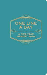 ONE LINE A DAY: A FIVE YEAR MEMORY BOOK (BLUE)