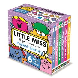 LITTLE MISS: POCKET LIBRARY (NEW)