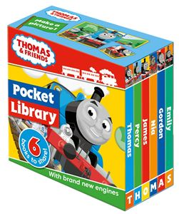 THOMAS AND FRIENDS POCKET LIBRARY (2019)