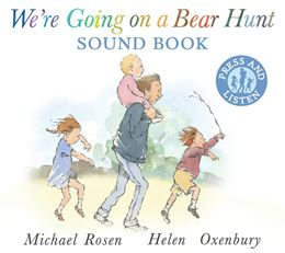 WERE GOING ON A BEAR HUNT SOUND BOARD BOOK