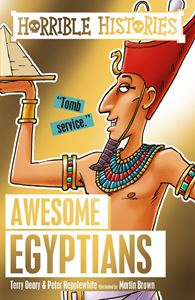 HORRIBLE HISTORIES: AWESOME EGYPTIANS (NEW)