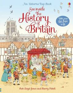 SEE INSIDE THE HISTORY OF BRITAIN (FLAP BOOK)