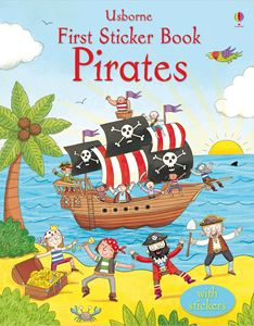 FIRST STICKER BOOK: PIRATES