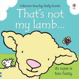 THATS NOT MY LAMB (TOUCHY FEELY)