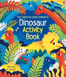 LITTLE CHILDRENS DINOSAUR ACTIVITY BOOK