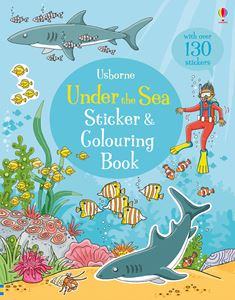 UNDER THE SEA STICKER AND COLOURING BOOK (NEW)