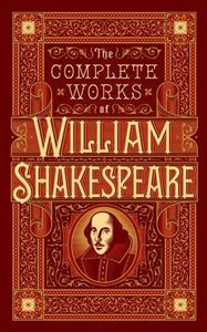 COMPLETE WORKS OF WILLIAM SHAKESPEARE (LEATHERBOUND) (NEW)