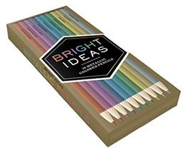 BRIGHT IDEAS: 10 METALLIC COLORED PENCILS (10 PENCILS)