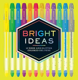 BRIGHT IDEAS: 12 NEON AND SPARKLE GEL PENS