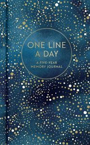 ONE LINE A DAY: A FIVE YEAR MEMORY JOURNAL (CELESTIAL)
