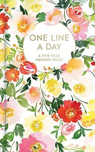 ONE LINE A DAY: A FIVE YEAR MEMORY BOOK (FLORAL)