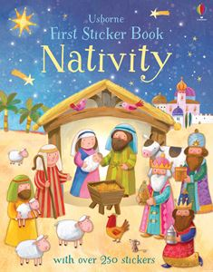 FIRST STICKER BOOK: NATIVITY